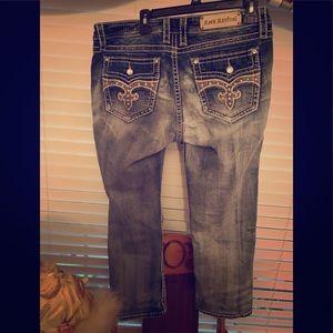 Rock and Revival capris/jeans women's 32